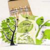 【kippis】トライアルセット開封後の画像。森・花・水の3種類が1つずつ入っている