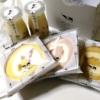 名古屋駅の地下にあるスイーツのお店・農ブランドで買ったスイーツ。買ってきたもの全部まとめて撮影