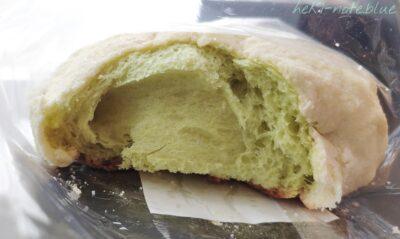 海老名メロンパンを割ってみた写真